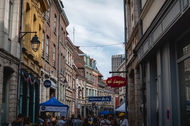 la ville de Lille : garde meuble pour stocker ses biens